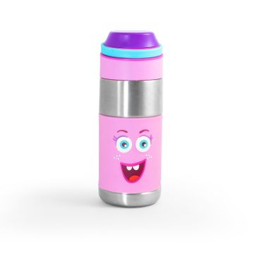 Mothercare | Rabitat Clean Lock Insulated Stainless Steel Bottle - Miss Butter