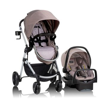 Mothercare | Evenflo Pivot Modular Travel System Sandstone