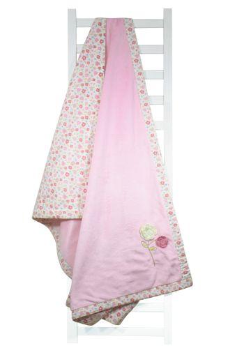 Mothercare   Abracadabra Plush Blanket - Vintage Floral