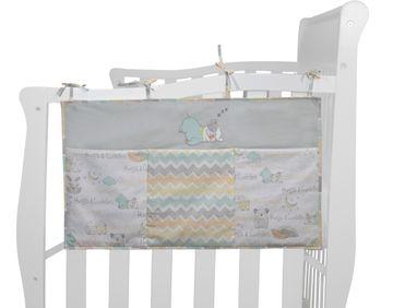 Mothercare | Abracadabra Bed Organiser - Sleepy Friends