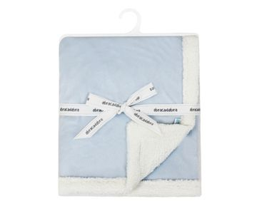 Mothercare | Abracadabra Chamois Blanket - Blue