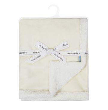 Mothercare   Abracadabra Chamois Blanket - Beige