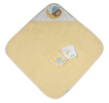 Mothercare   Abracadabra Hooded Towel Set - Naptime Teddy