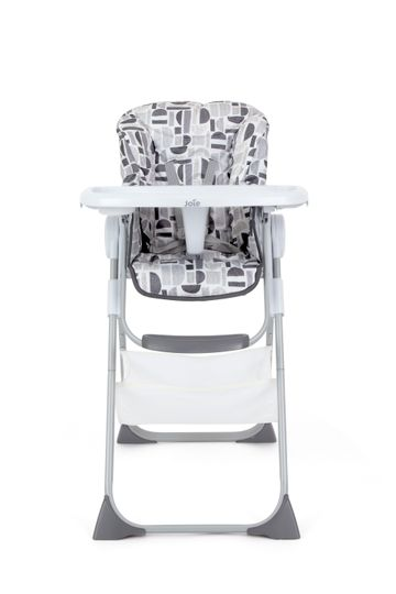 Mothercare | Joie Snacker 2In1 High Chair Logan Black & Grey