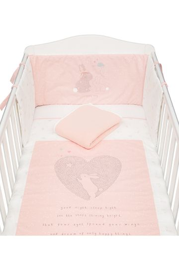 Mothercare | Mothercare My First Girl Printed Bed In A Bag Bedding Set Pink