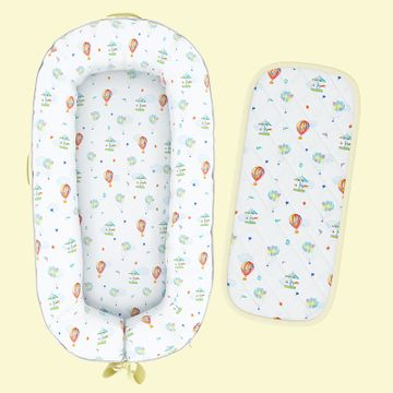 Mothercare | Fancy Fluff Organic Baby Cocoon - Carnival
