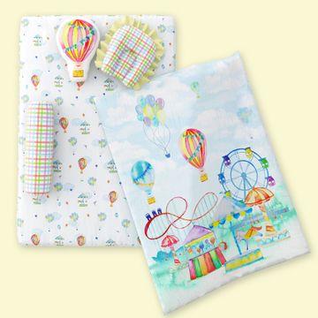Mothercare | Fancy Fluff 6 Piece Organic Baby Mattress Set - Carnival