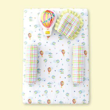 Mothercare | Fancy Fluff 5 Piece Organic Baby Mattress Set - Carnival