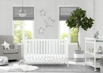 Mothercare | Delta Children Adley 3in1 Crib White