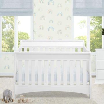 Mothercare | Delta Children Bentley 'S' 4in1 Crib White