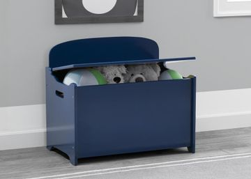 Mothercare | Delta Children Deluxe Toy Box  Navy
