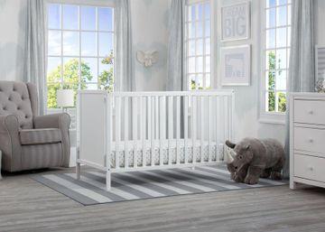 Mothercare | Delta Children Heartland Cl 4in1 Crib White