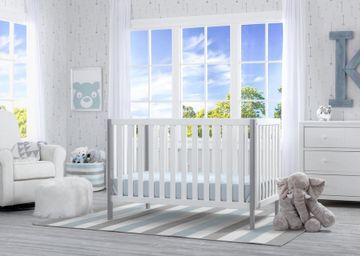 Mothercare | Delta Children Milo 3in1 Crib White