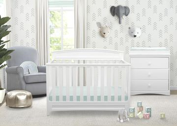 Mothercare | Delta Children Sutton 4in1 Crib White
