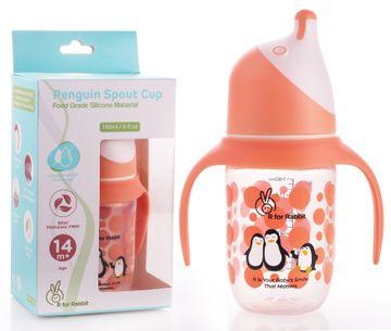 Mothercare | R For Rabbit Penguin Spout Sipper Orange