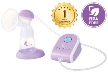 Mothercare   R For Rabbit First Feed Delight Electric Breast Pump Purple