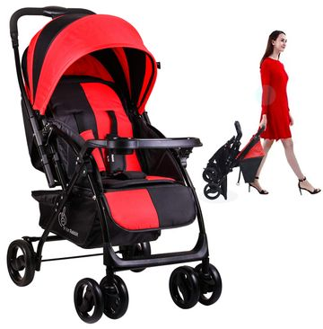 Mothercare   R For Rabbit Cuppy Cake Grand Baby Strollers Red Black