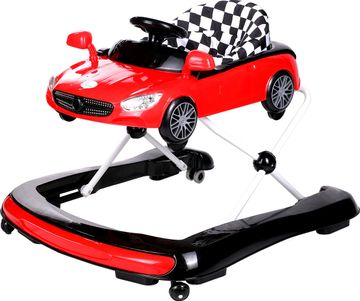 Mothercare | R For Rabbit Zoom Car Baby Walker & Jumpers Red