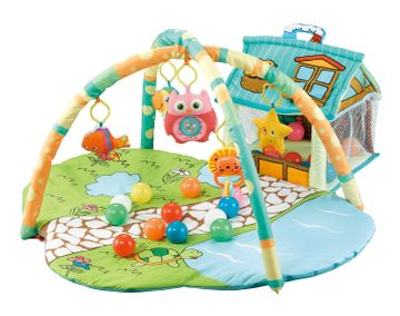 Mothercare | R For Rabbit First Play House Play Gym Multicolour