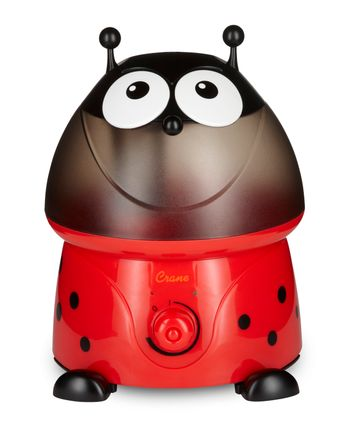 Mothercare | Crane Ladybug Cool Mist Humidifier Red