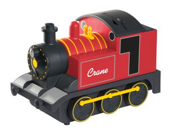 Mothercare | Crane Train Cool Mist Humidifier Red