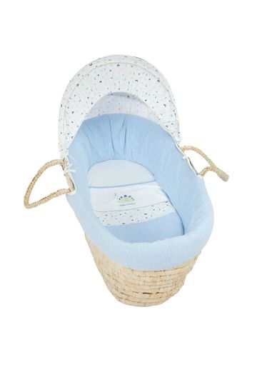 Mothercare | Mothercare Sleepysaurus Moses Basket Bed Blue