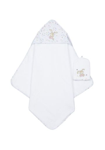 Mothercare | Mothercare Spring Flower Cuddle and Dry Baby Towels Mitt Multi