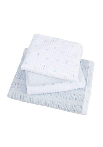 Mothercare | Mothercare Sleepysaurus Cot Bed Starter Set Blue