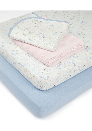 Mothercare | Mothercare Spring Cotbed Starter Set Multi