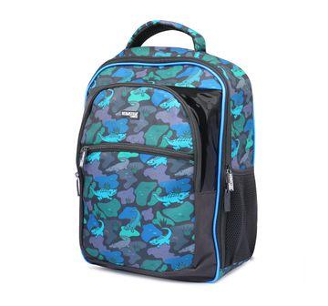 Hamster London | Hamster London Alligator Backpack for Kids age 3Y+ (Black)