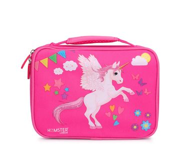 Hamster London | Hamster London Lunch Bag Unicorn Bags for Kids Age 3Y+ (Pink)