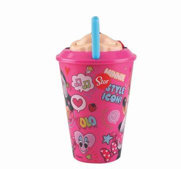 Disney | Disney Stor 3D Straw Tumbler Minnie 415 Ml for Age 3Y+ (Pink)