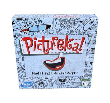 Hasbro Gaming | Hasbro Pictureka! Board Game For Family And Kids, Indoor Classic Board Game for Kids age 8Y+