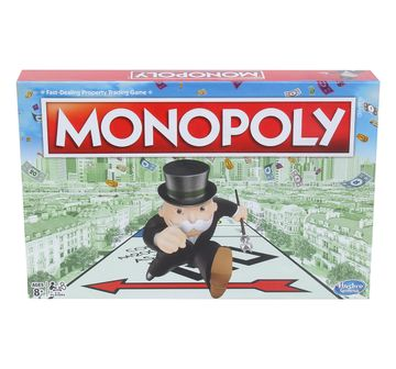 Hasbro Gaming | Hasbro Monopoly Classic Board Game For Families And Kids Board Games for Kids age 8Y+