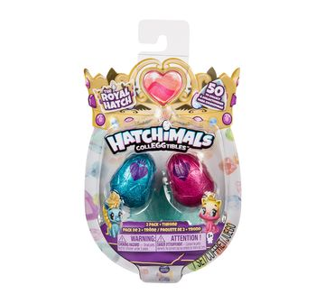 Hatchimals | Hatchimals Colleggtibles Season 6 - 2 Pack + Nest Novelty for Girls age 5Y+ - 18.41 Cm