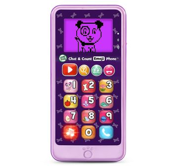 Leap Frog   CHAT & COUNT EMOJI PHONE PURPLE