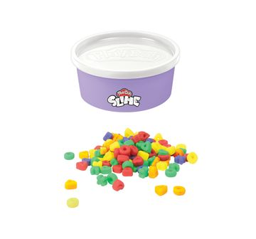 Play-Doh | Play-Doh Slime Rainb-Os Cereal Themed Slime Compound Assorted for Kids 3 Years and Up, 4.5-ounce Can with Plastic Cereal Bits, Non-Toxic Sand, Slime & Others for Kids age 3Y+