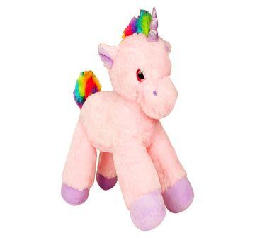 Fuzzbuzz | Fuzzbuzz Lying Unicorn Plush  - 53Cm (Pink), 0M+