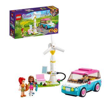 LEGO | LEGO Olivia's Electric Car Lego Blocks for Kids age 6Y+