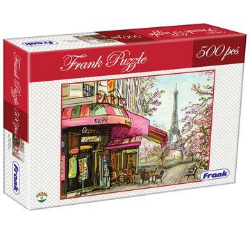 Frank | Frank Paris Street Puzzle 500 Pieces, 10Y+