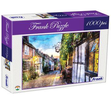 Frank   Frank Cobbled Street Puzzle 1000 Pieces, 14Y+