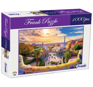 Frank | Frank Park Guell, Barcelona, Spain Puzzle 1000 Pieces, 14Y+