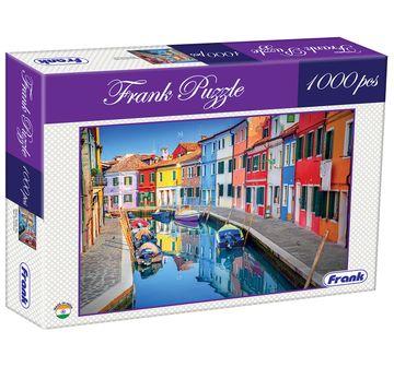 Frank | Frank Burano, Venice, Italy Puzzle 1000 Pieces, 14Y+