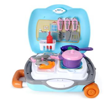 Peppa Pig | Peppa Kitchen Set with Trolley for Girls age 3Y+