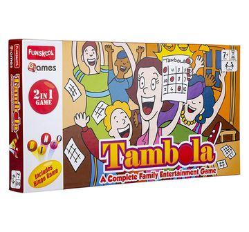 Funskool | Funskool  Tambola 2 In 1 Game, 4Y+ (Multicolor)