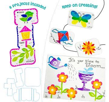 Imagimake | Imagimake Stamp Art Garden, 2Y+ (Multicolor)