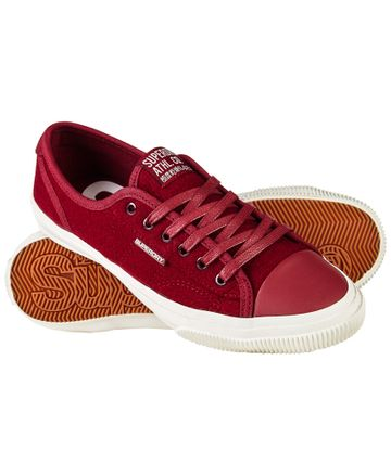 Superdry | Low Pro Luxe Red Sneakers