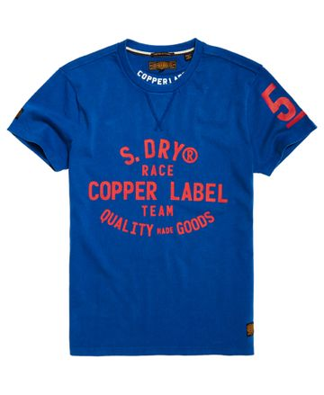 Superdry | Dry Cobalt Printed T-Shirt