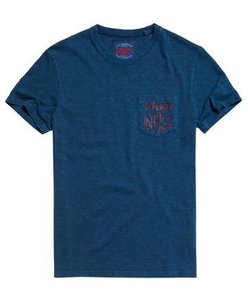 Superdry   Blue Bottle Melange T-Shirt