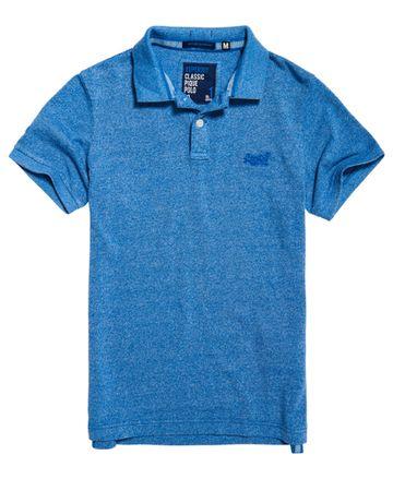 Superdry | Cambridge Blue Grit Melange T-Shirt